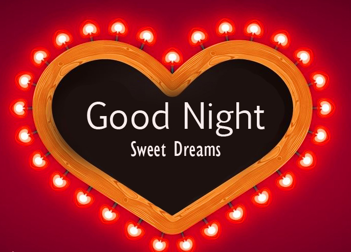 Shining Heart Good Night Sweet Dreams Picture