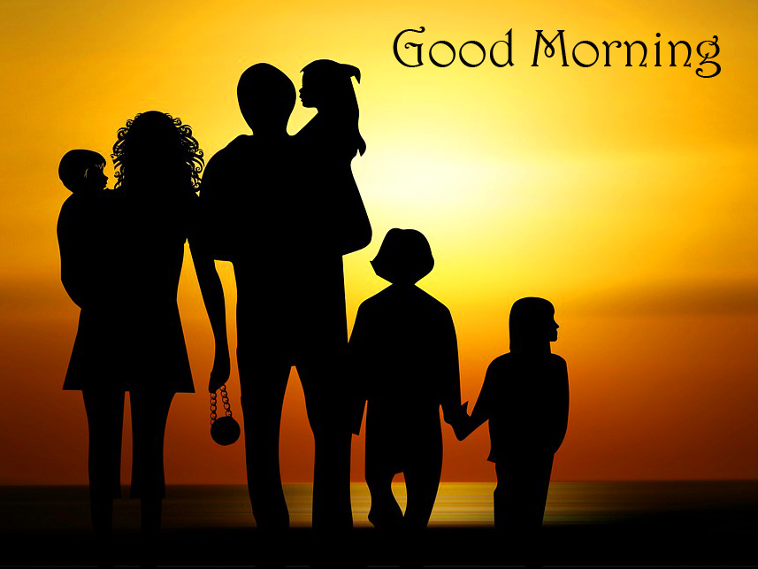 Sunrise Family Good Morning Picture HD