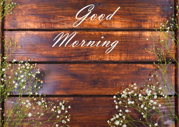 Sweet Good Morning Flowers Message Pic