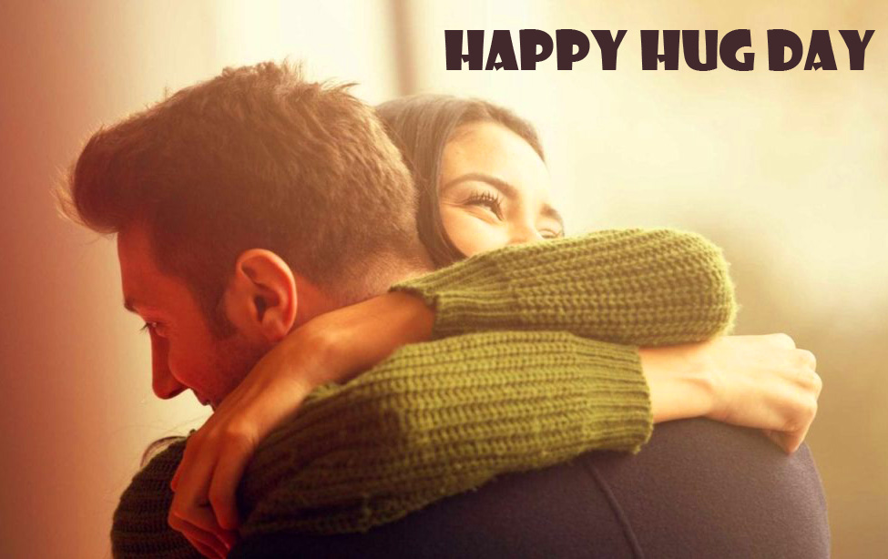 Sweet HD Couple Happy Hug Day Picture