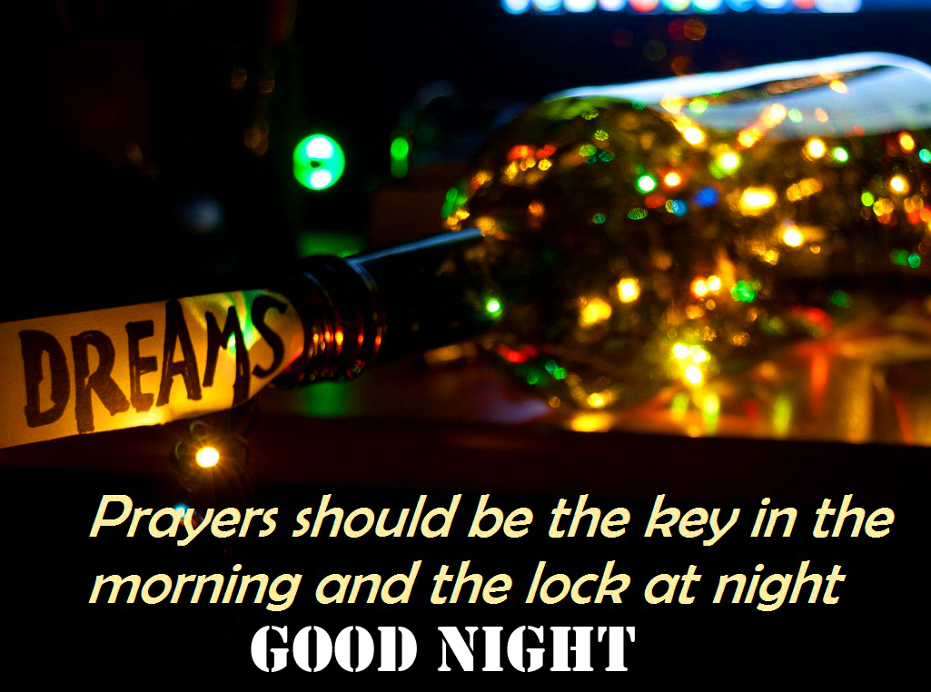 Sweet Prayers Blessing Good Night Picture