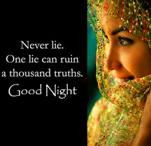 Truth Good Night Blessing Picture
