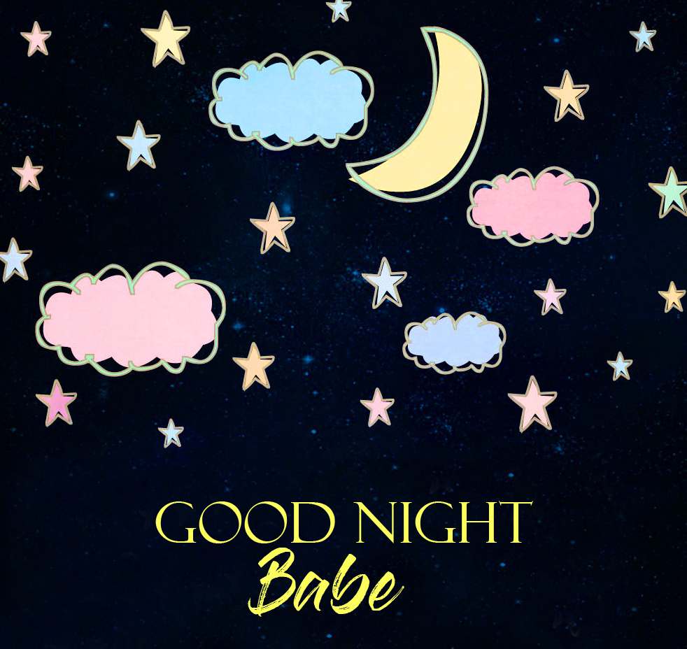 Animated Good Night Babe Cartoon Picture