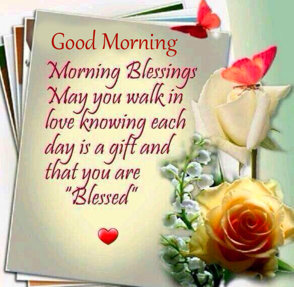 Beautiful Blessing Quote Good Morning Image
