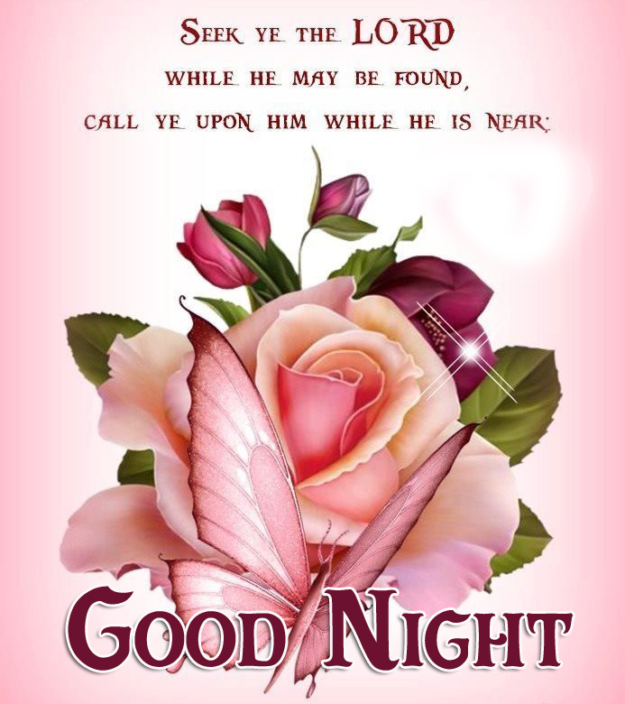 Beautiful Lord Blessing Good Night Picture