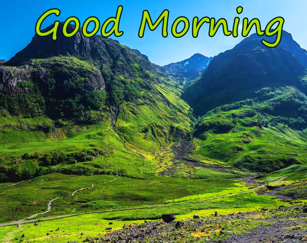 Beautiful Mountains Good Morning Picture HD