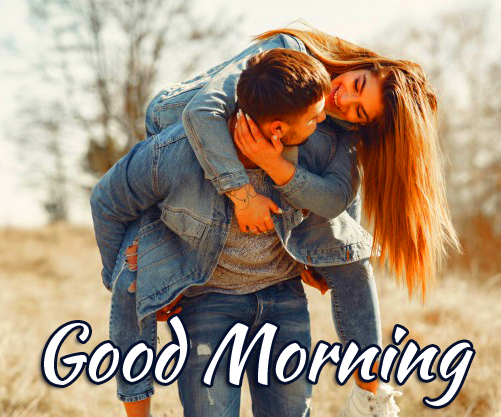 Beautiful and Cute Couple Good Morning Image