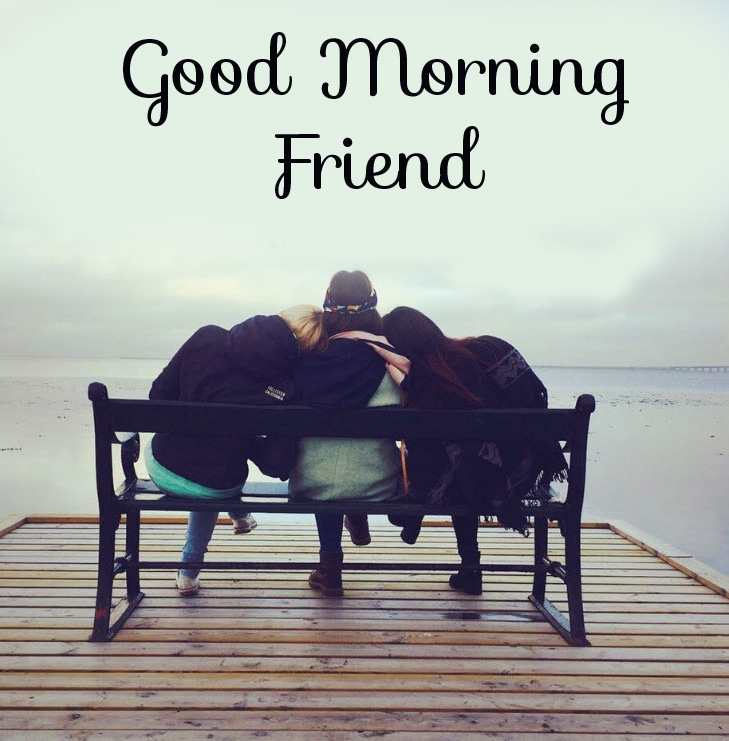 Best Friends with Good Morning Friend Wish
