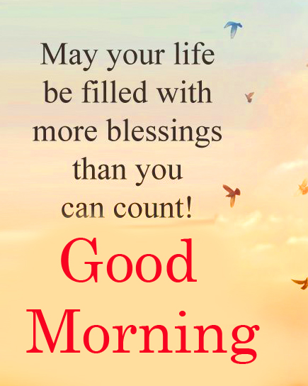 Best Good Morning Blessing Quote Wallpaper