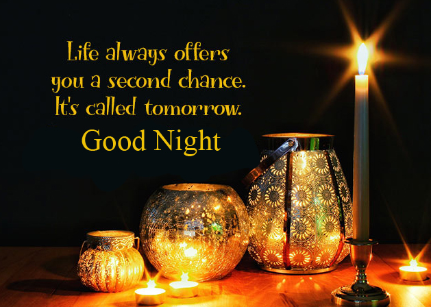 Best Inspiring Blessing Quote Good Night Image