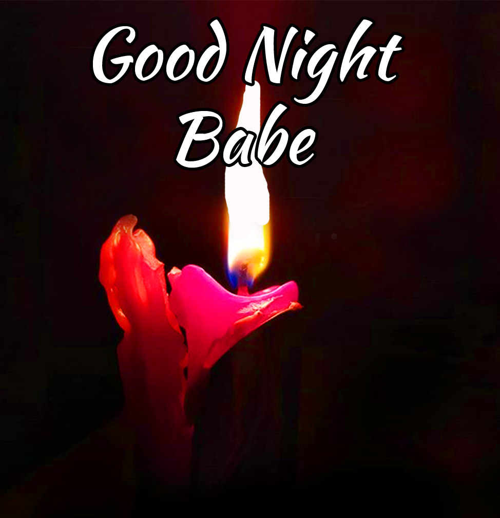 Candle Good Night Babe Picture
