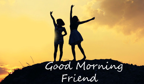 Cheerful Good Morning Friend Picture
