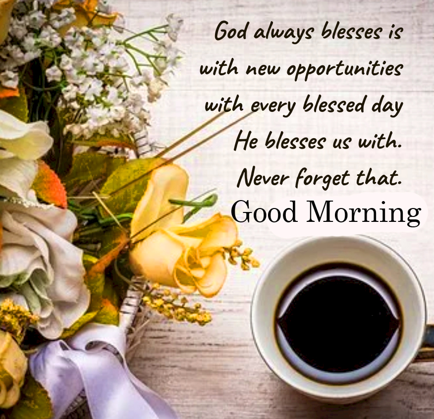 Coffee Good Morning Blessing Pic