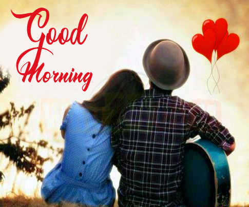 Couple Good Morning Pic