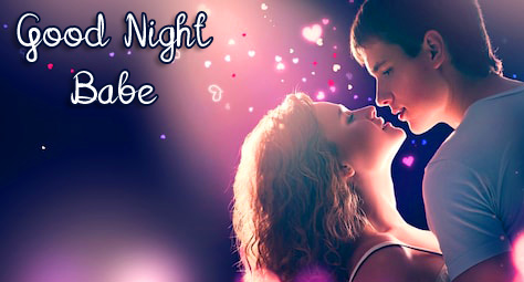 Couple Good Night Babe Picure HD
