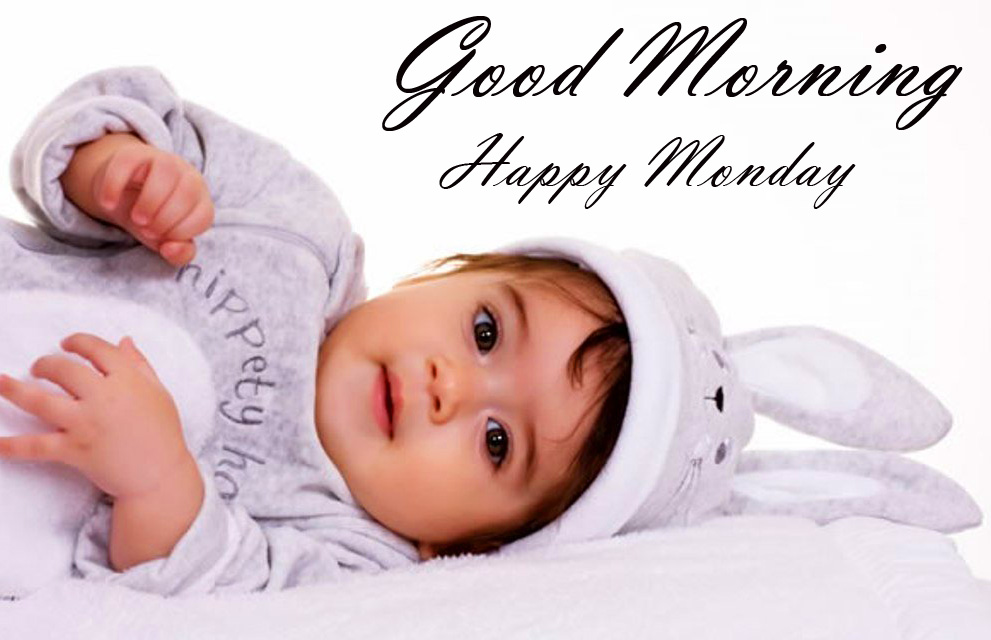 Cute Girl Good Morning Happy Monday Pic