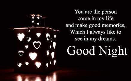 Dreaming Blessing Quote Good Night Image