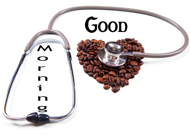 Funny Coffee Beans Good Morning Wallpaper