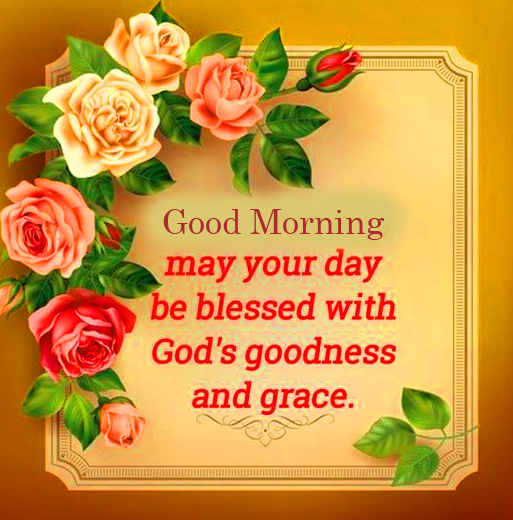 God Goodness Blessing Quote Good Morning Image
