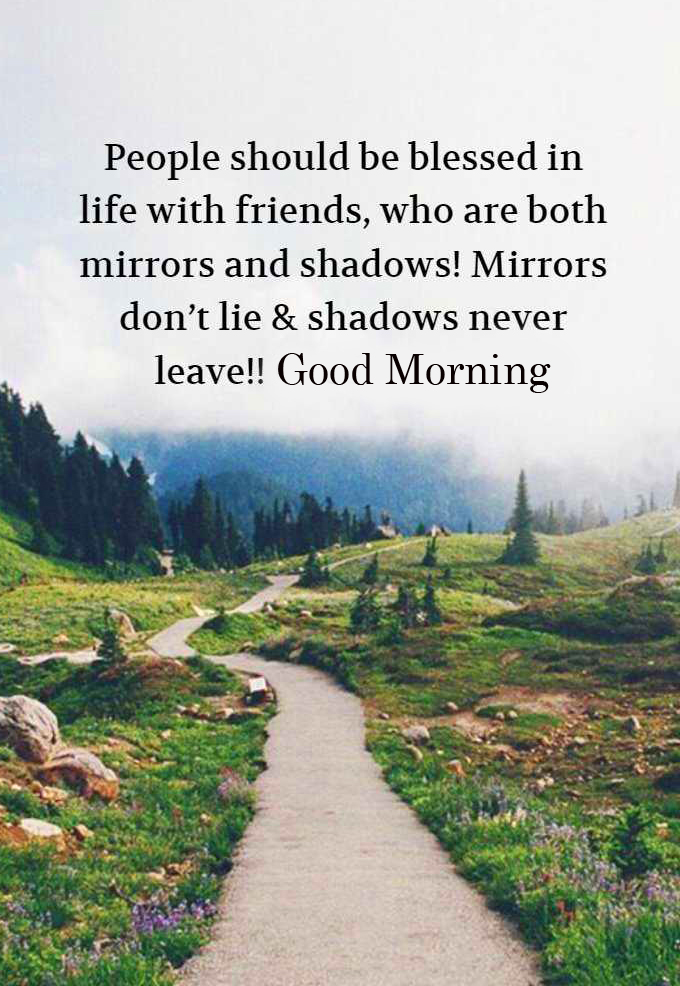 Good Morning Beautiful Blessing Quote Wallpaper