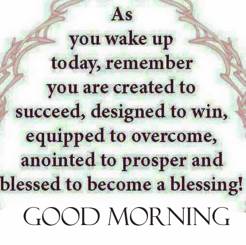 Good Morning Blessing Quote HD Image
