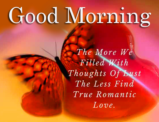 Good Morning Blessing Quote with Butterfly