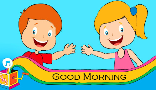Good Morning Cartoon HD Picture