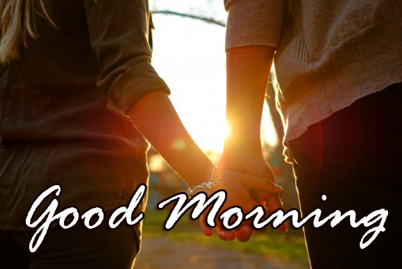Good Morning Couple HD Hands Image