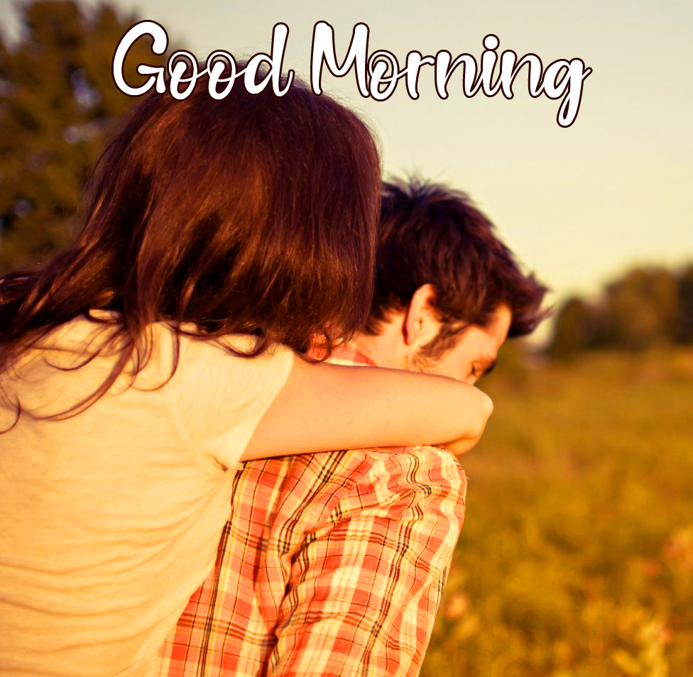 Good Morning Cute Couple Picture