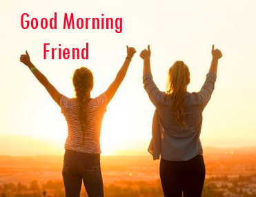 Good Morning Friend Sweet Picture