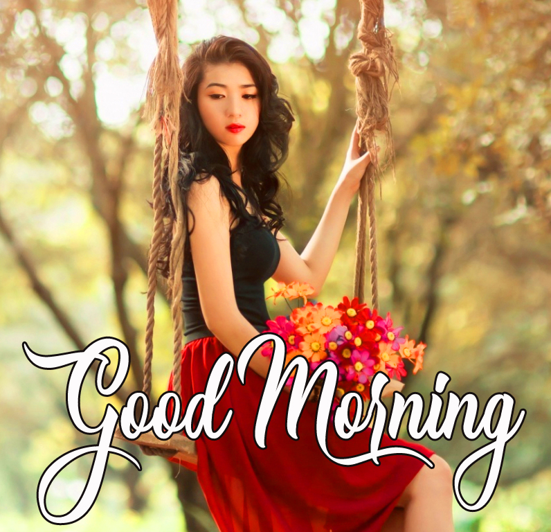 Good Morning Girl Sweet Picture