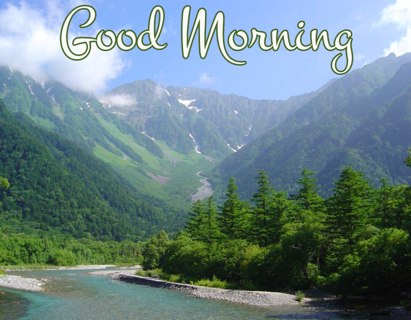 Good Morning Green Mountains Picture