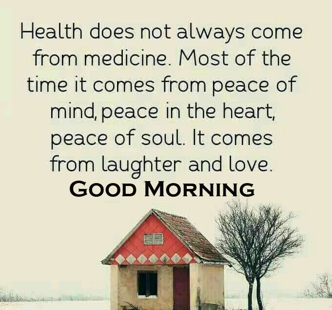 Good Morning Healthy Quote Wallpaper