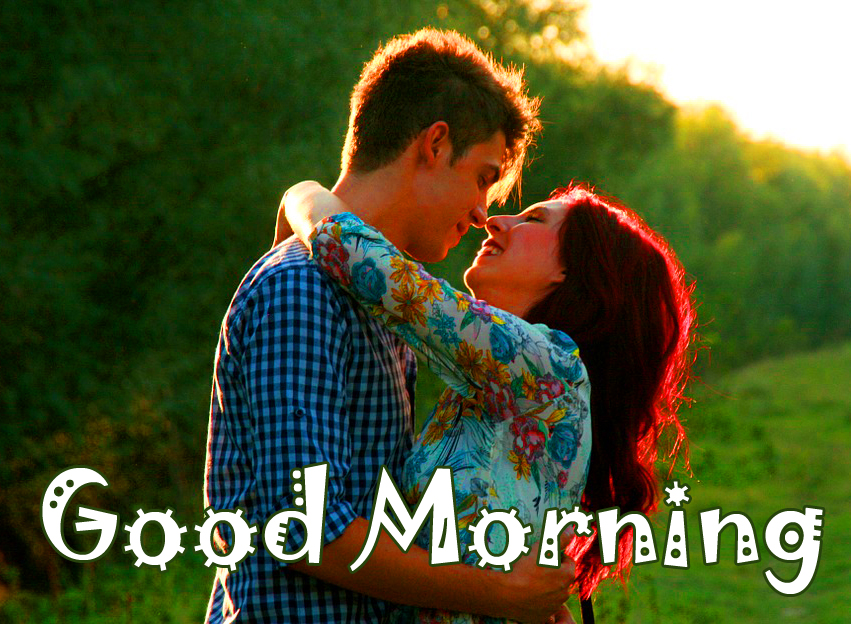 Good Morning Latest Sweet Couple Picture