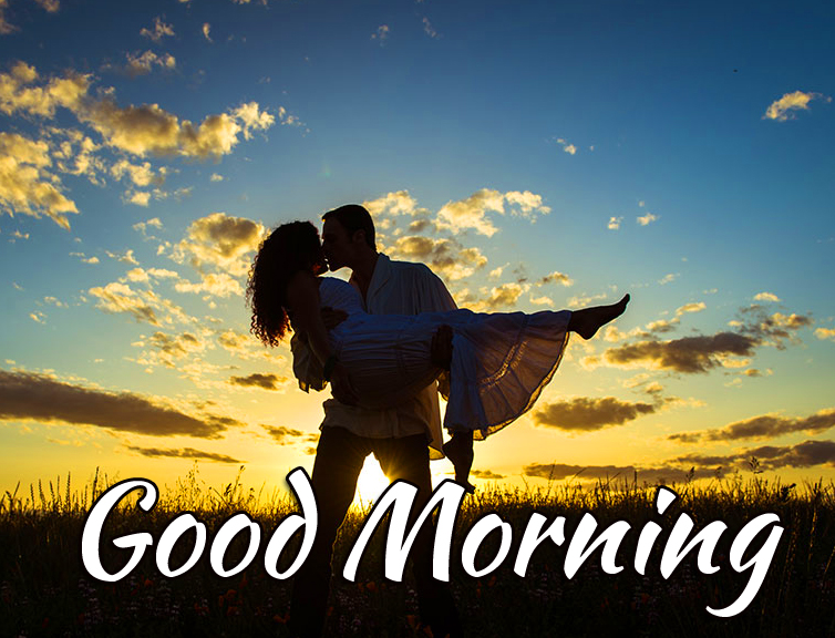 Good Morning Love Couple Pic