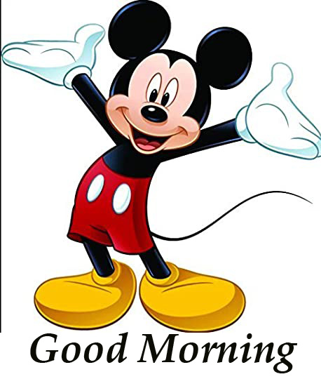 Good Morning Mickey Mouse Image