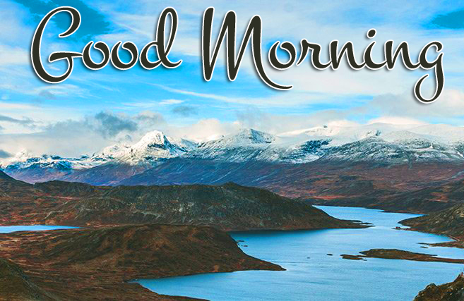 Good Morning Mountain Scenery Picture