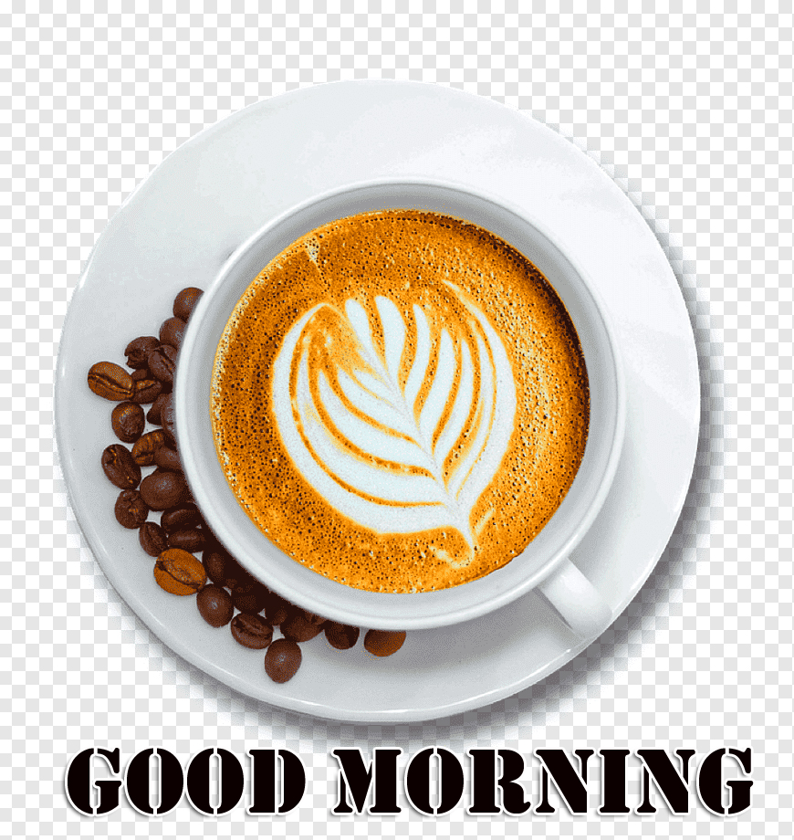 Good Morning PNG Coffee Image