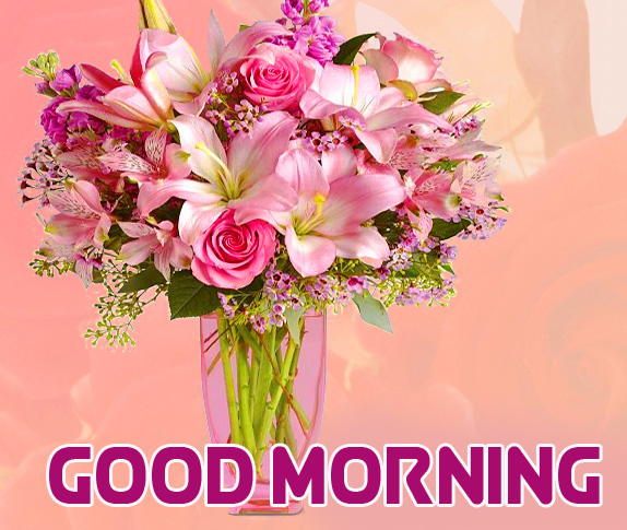 Good Morning with Flowers Bouquet