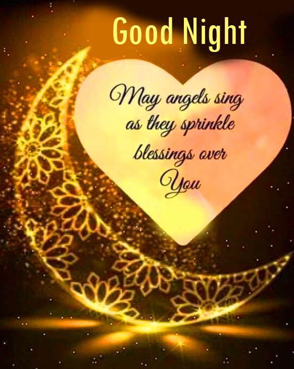 Good Night Angels Blessing Pic