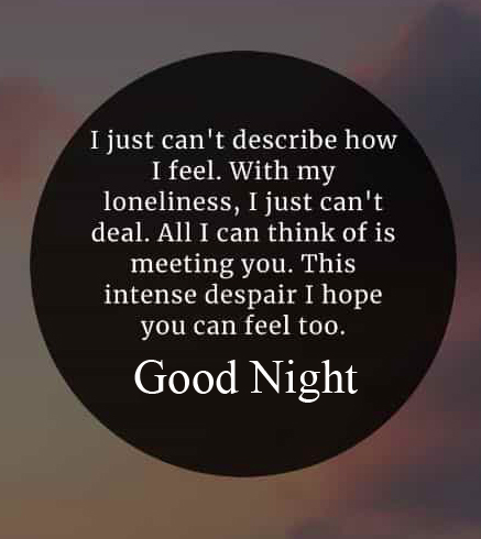 Good Night Blessing Quote HD Picture