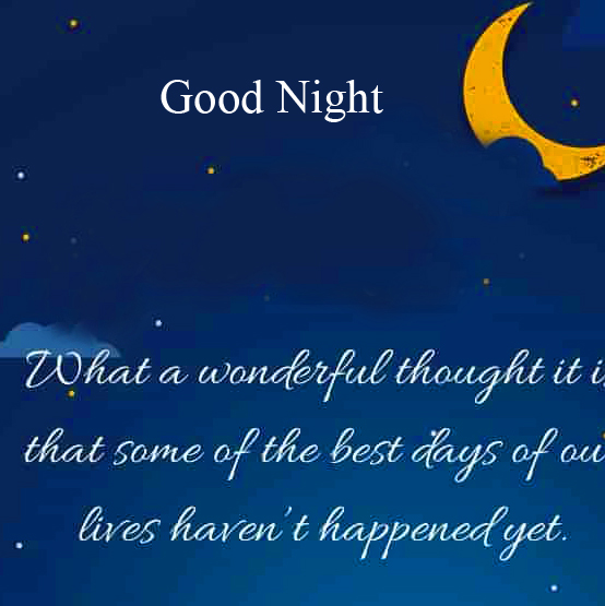 Good Night Blessing Quote Picture HD