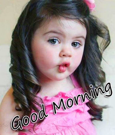HD Cute Girl Good Morning Picture