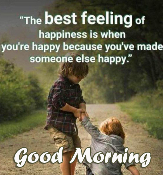 Happy Good Morning Quote Image