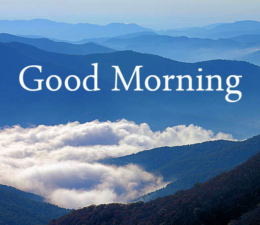 Heavenly Mountains Good Morning Image