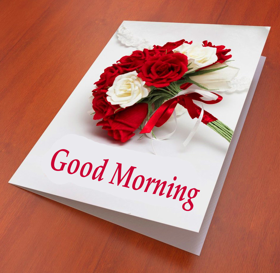 Latest Flowers Good Morning Card Pic