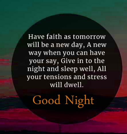 Latest HD Quote Good Night Picture