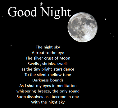 Latest Quote Blessing Good Night Image