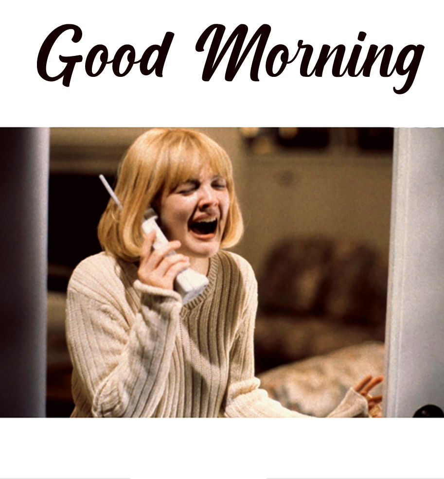 Latest and Funny Girl Good Morning Image