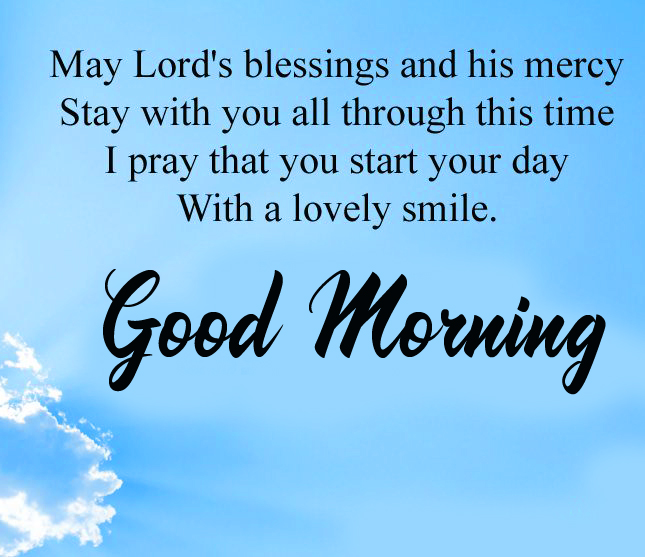 Lord Blessing Good Morning Picture